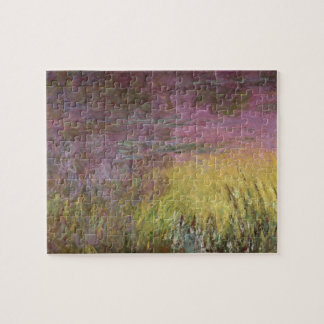 Claude Monet | Waterlilies at Sunset Jigsaw Puzzle