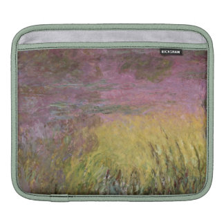 Claude Monet | Waterlilies at Sunset Sleeve For iPads