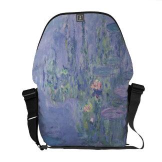 Claude Monet | Waterlilies Courier Bag