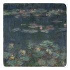 Claude Monet   Waterlilies: Green Reflections Trivet