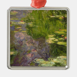 Claude Monet | Waterlilies Metal Ornament