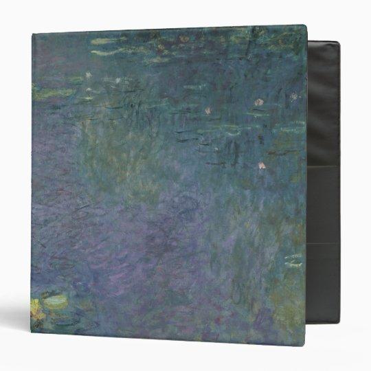 Claude Monet | Waterlilies: Morning, 1914-18 3 Ring Binder