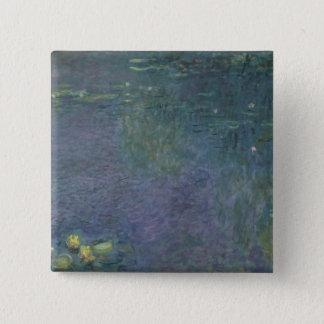 Claude Monet | Waterlilies: Morning, 1914-18 Button