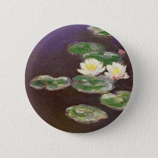Claude Monet - Waterlilies Pinback Button