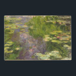 "Claude Monet | Waterlilies Placemat<br><div class=""desc"">Waterlilies 