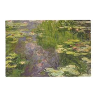 Claude Monet | Waterlilies Placemat at Zazzle