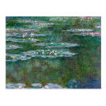 Claude Monet // Waterlilies Postcard