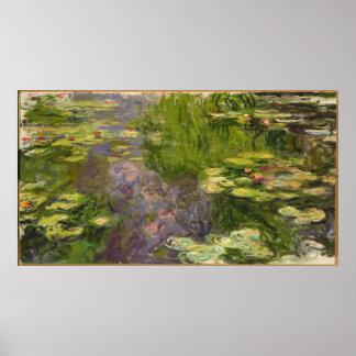 Claude Monet | Waterlilies Poster