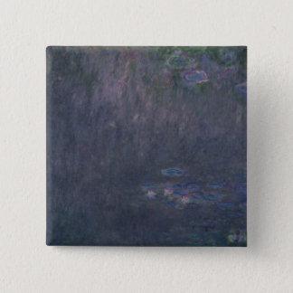 Claude Monet | Waterlilies: Reflections of Trees Button