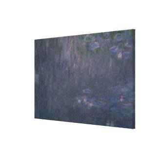Claude Monet | Waterlilies: Reflections of Trees Canvas Print