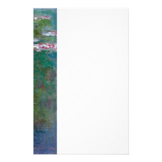 Claude Monet // Waterlilies Stationery