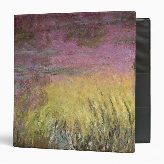 Claude Monet | Waterlilies Sunset, 1915-26 Binder