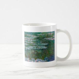 Claude Monet Waterlilies Tazas De Café
