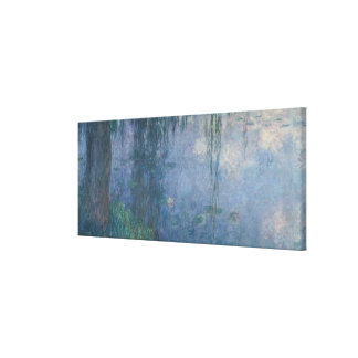 Claude Monet | Waterlilies: Weeping Willows, 1914 Canvas Print