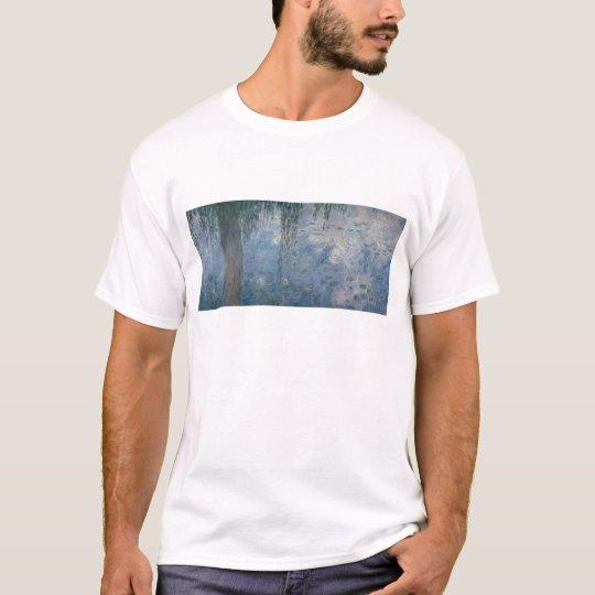 Claude Monet | Waterlilies: Weeping Willows, 1914 T-Shirt