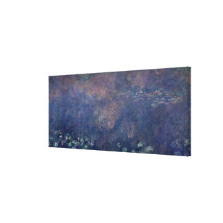 Claude Monet | Waterlilies: Weeping Willows centre Canvas Print