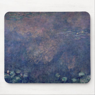 Claude Monet | Waterlilies: Weeping Willows centre Mouse Pad