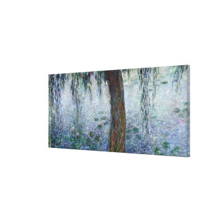 Claude Monet | Waterlilies Weeping Willows right Canvas Print
