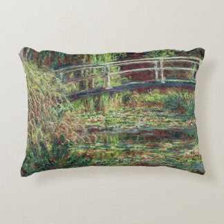Claude Monet | Waterlily Pond: Pink Harmony, 1900 Decorative Pillow