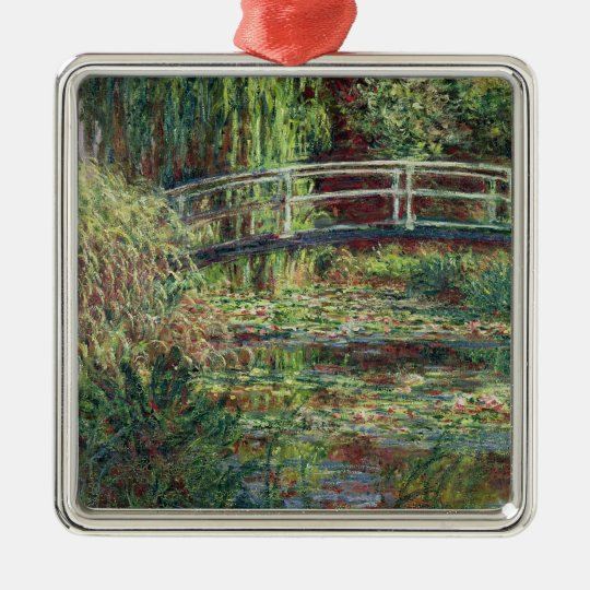 Claude Monet | Waterlily Pond: Pink Harmony, 1900 Metal Ornament