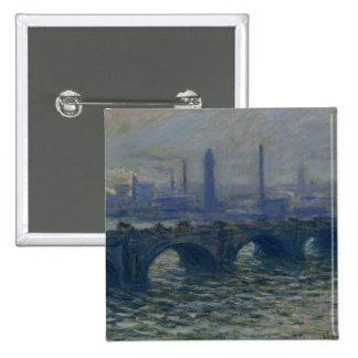 Claude Monet | Waterloo Bridge, 1902 Button