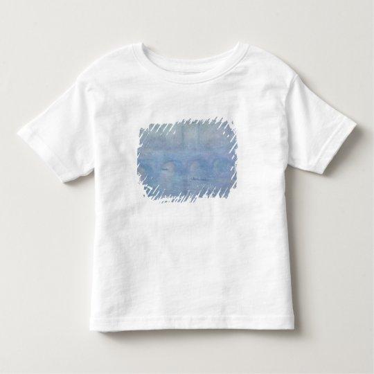Claude Monet   Waterloo Bridge: Effect of the Mist Toddler T-shirt