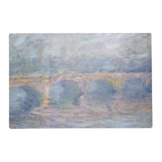 Claude Monet | Waterloo Bridge, London, at Sunset Placemat