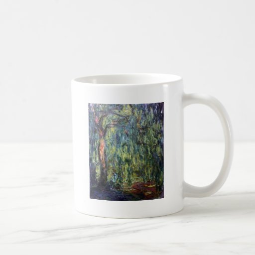 Claude Monet Weeping Willow Classic White Coffee Mug