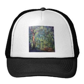Claude Monet Weeping Willow Hat