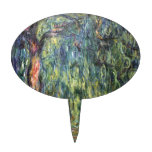 Claude Monet Weeping Willow Oval Cake Picks