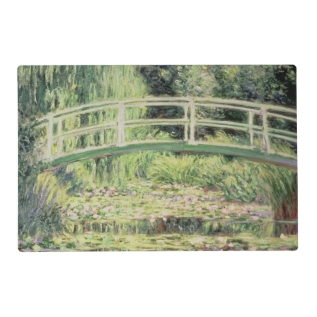 Claude Monet | White Nenuphars, 1899 Placemat at Zazzle