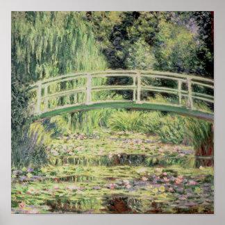 Claude Monet | White Nenuphars, 1899 Poster