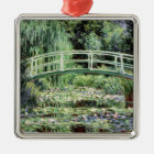 Claude Monet | White Waterlilies, 1899 Metal Ornament