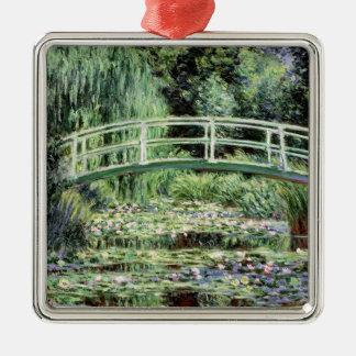 Claude Monet | White Waterlilies, 1899 Metal Ornament