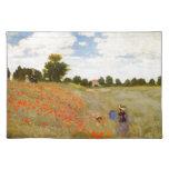 Claude Monet // Wild Poppies Cloth Placemat