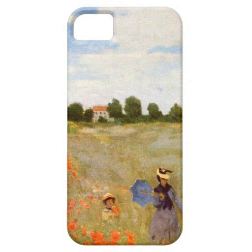 Claude Monet // Wild Poppies iPhone 5 Cases