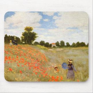 Claude Monet // Wild Poppies Mouse Pad