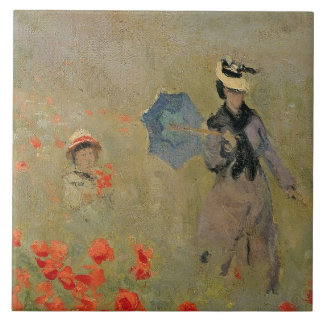 Claude Monet | Wild Poppies, near Argenteuil Tile