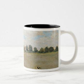 Claude Monet | Wild Poppies, near Argenteuil Two-Tone Coffee Mug