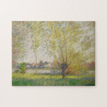 Claude Monet - Willows of Vetheuil Jigsaw Puzzles