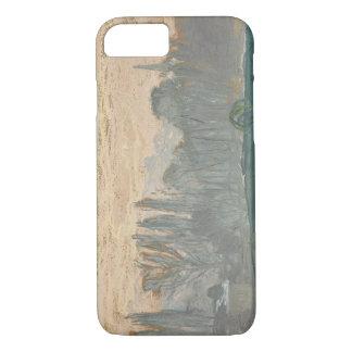 Claude Monet - Winter Landscape with Evening Sky iPhone 7 Case