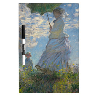 Claude Monet Woman with a Parasol 1875 Dry-Erase Boards