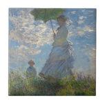 Claude Monet Woman with a Parasol 1875 Tiles