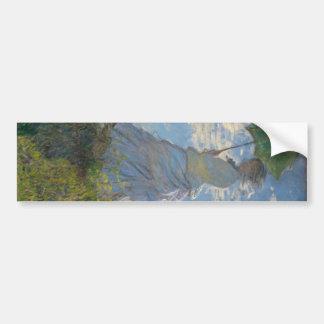 Claude Monet - Woman with a Parasol Bumper Sticker