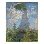 Claude Monet - Woman with a Parasol Photo Print