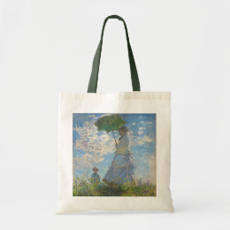 Claude Monet   Woman with a Parasol Tote Bag