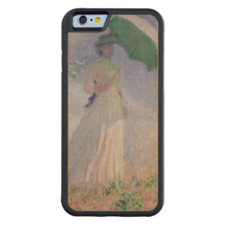 Claude Monet | Woman with a Parasol Turned Right Carved® Maple iPhone 6 Bumper Case