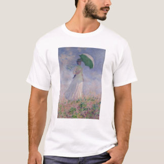 Claude Monet | Woman with a Parasol Turned Right T-Shirt