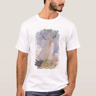 Claude Monet   Woman with Parasol Turned Left T-Shirt