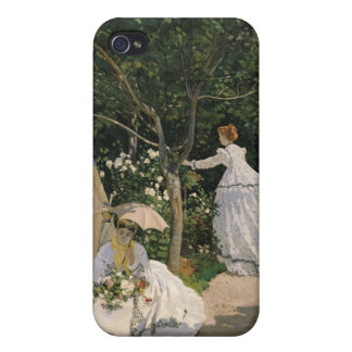 Claude Monet | Women in the Garden, 1866 Cover For iPhone 4